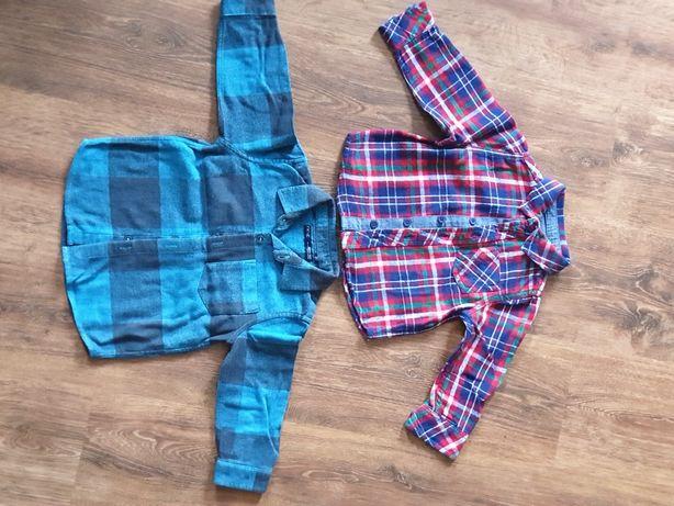 Koszula flanelowa dla chłopca rozmiar 80-86