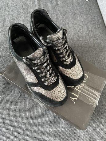 Кроссовки Alpino, кросівки шкіряні 37 розмір