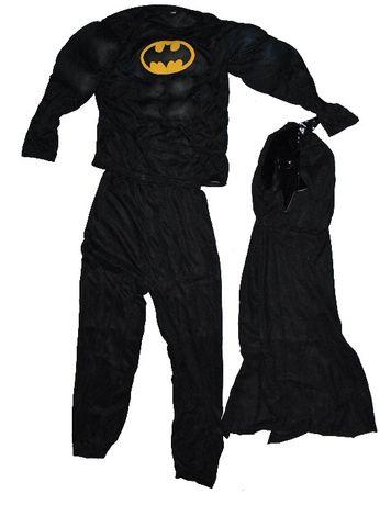 Strój karnawałowy Kostium komplet BATMAN