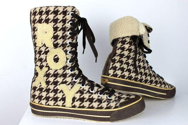 ROXY Ocieplane wysokie trampki buty r 41 NOWE -70%