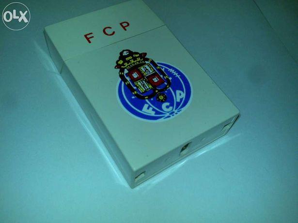 futebol clube do porto (isqueiro - imitação de um maço de tabaco) raro