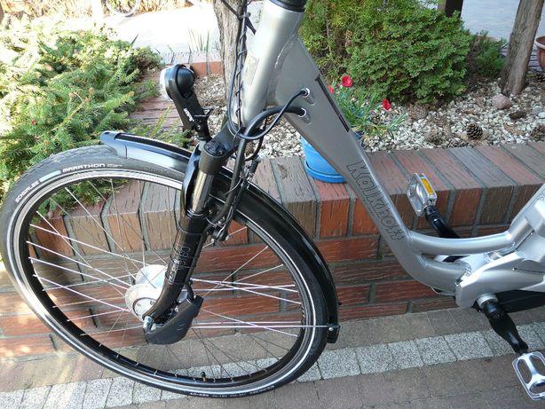 Rower elektryczny KALKHOFF e-Series.. Hamulec nożny. Made in Germany