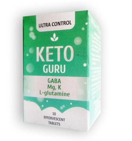 Keto Guru шипучие таблетки для похудения Кето Гуру
