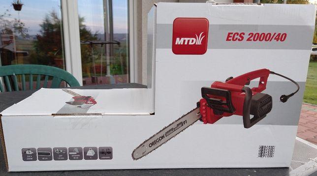Nową, nierozpakowaną pilarkę elektryczną MTD ECS 2000/40 sprzedam