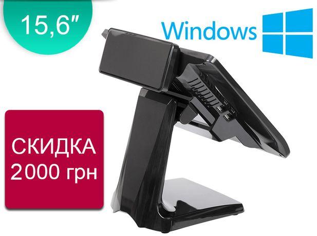 """Windows ПОС-моноблок 15,6"""" Сенсорный pos-терминал для кафе, ресторана"""