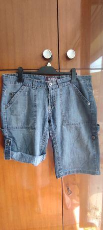 Krótkie spodenki damskie jeansowe, r. 42 (14)