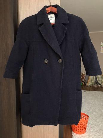 Оверсайз пальто букле pull&bear