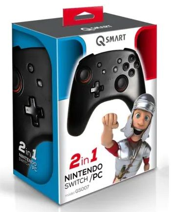 QSmart GS007 JOYPAD Bezprzewodowy Nintendo Switch i PC