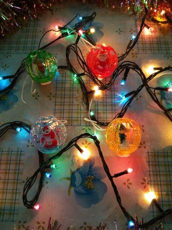 Новогодние киндер-шарики