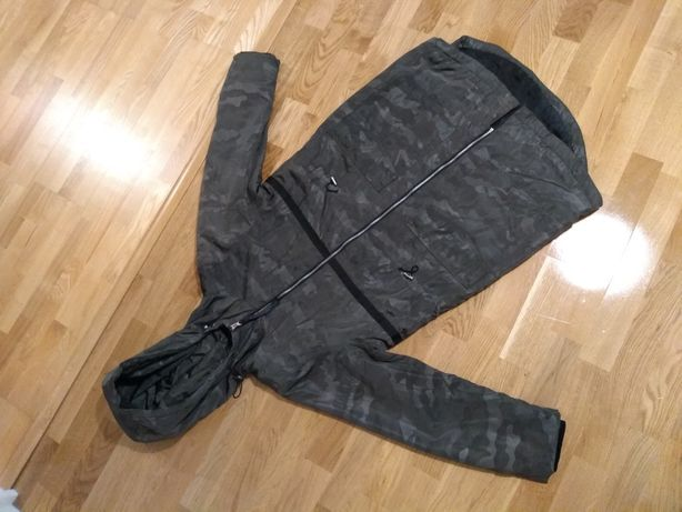 Płaszcz kurtka house xs/s moro 36