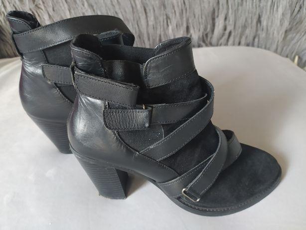Jak nowe buty botki nie Venezia nie Zara skórzane 40 41