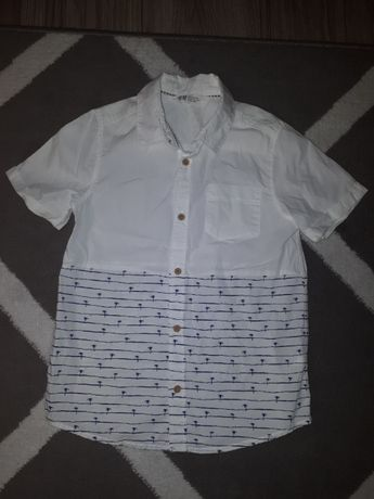 Koszula H&M rozmiar 128 cm