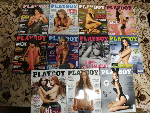 Журналы Плейбой. Playboy. 11 журналов.