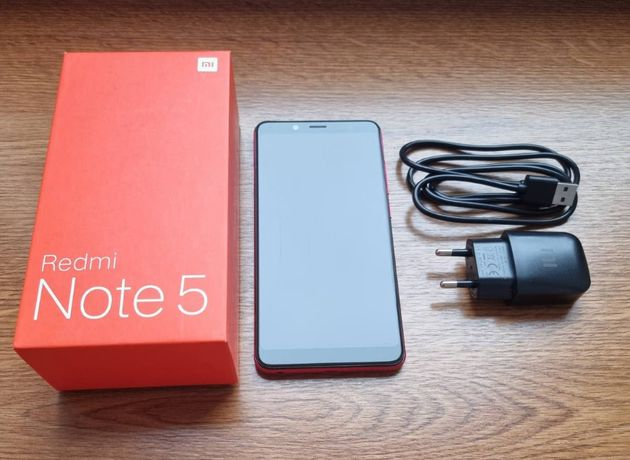 Телефон Redmi Note 5 4/64GB Red в отличном состоянии