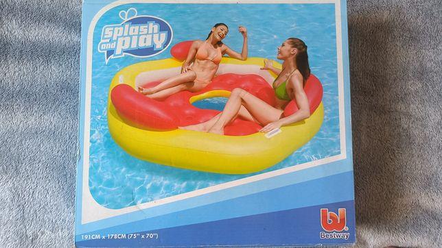 Materac do pływania na 3 osoby