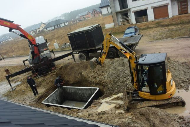 Szambo na ścieki zbiornik zbiorniki 8m3 szamba betonowe
