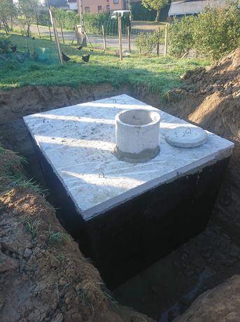 Zbiornik betonowy szamba betonowe szczelne Bielsko Biała Rybnik Tychy