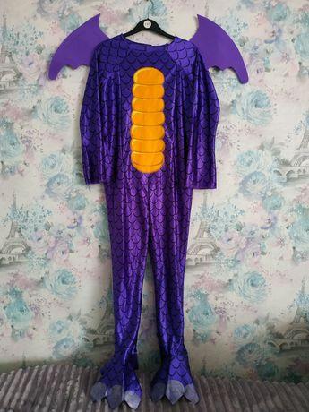 Карнавальный костюм дракона скайлендер Skylanders дракончик 7-8