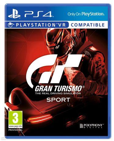 Gra Gran Turismo Sports PS4 - nowa