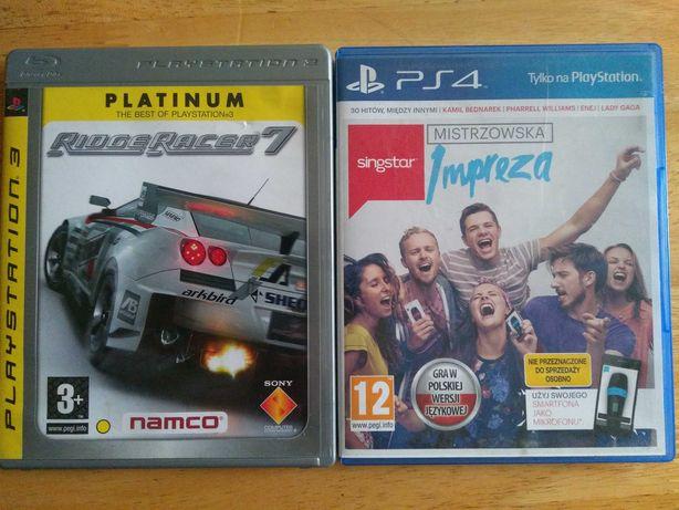 Gry na  PS4 i Playstation 3