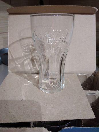 Komplet 6szt szklanek Coca-Cola 0,2l