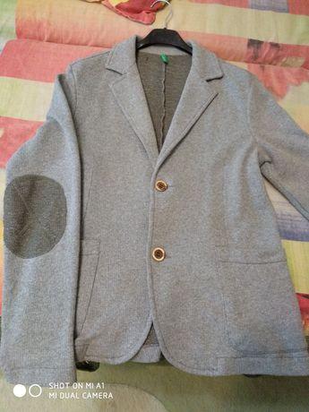 Трикотажный пиджак на рост 158-164