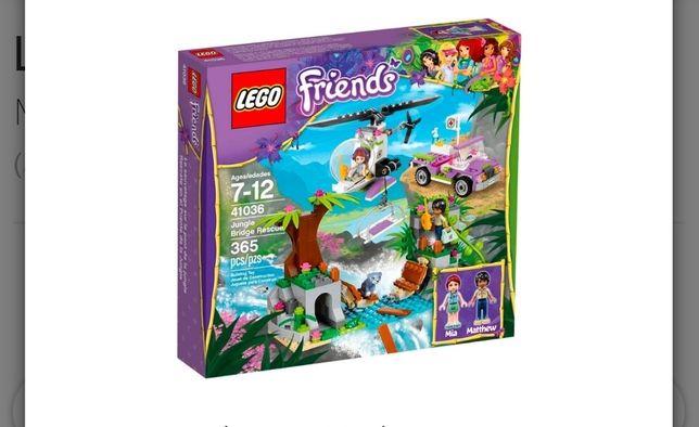 LEGO Friends Спасение на мосту в джунглях ( Лего )