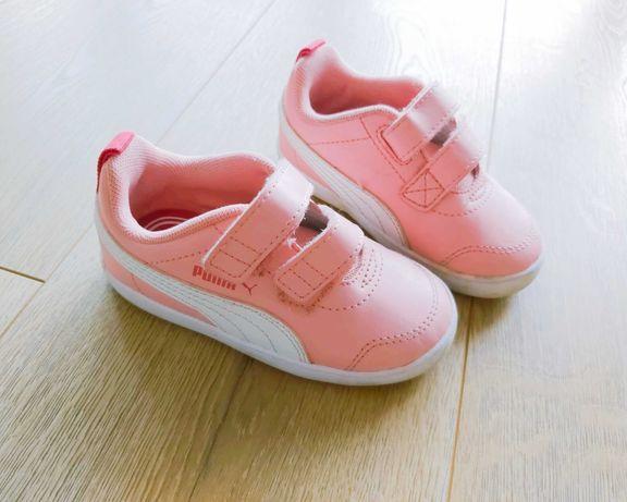 Różowe Buty Puma rozm.23 dla dziewczynki.