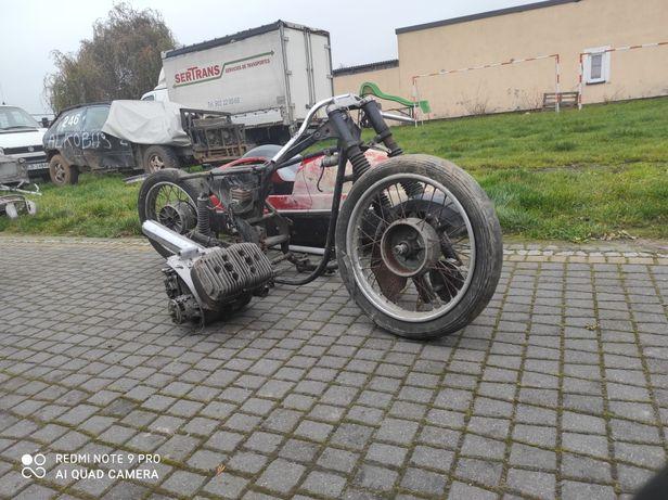 Jawa 350 Ts deluxe cz zamiana zamienię na motocykl quad cross prl kosz