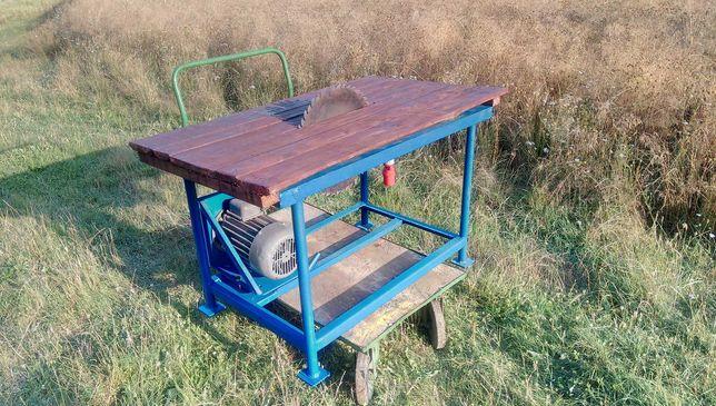 Masywna stołowa piła tarczowa stolarska 2,2KW CYRKULARKA, KRAJZEGA
