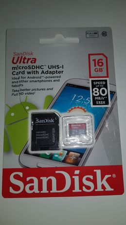 Karta pamięci micro SDHC 16 GB