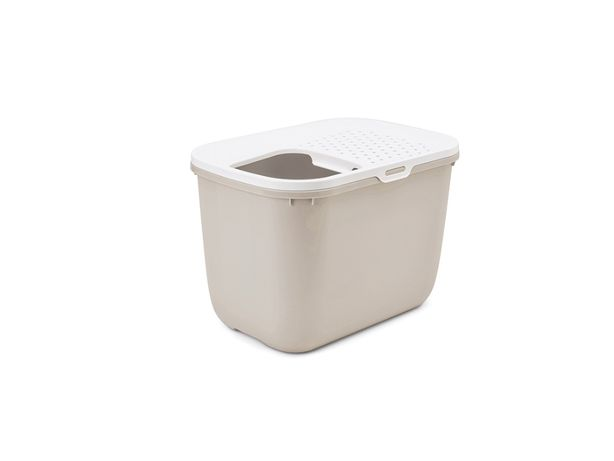 Savic WC Gato Hop In Branco & Bege