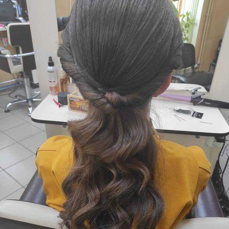 Стрижки, покраски, укладки волос от студента