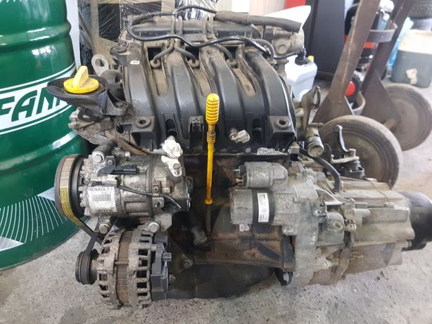 Silnik 1.2 16v Renault Dacia  D4F D740