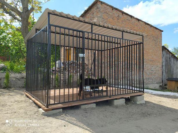 Kojce dla psów 3X3 Klatka Boks KOJEC o wymiarach 3mx3m NA JUŻ