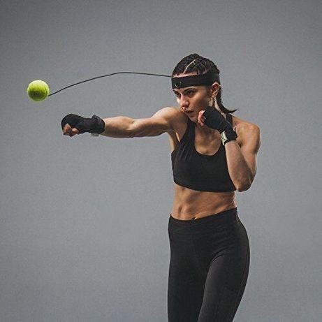 Тренажер файтбол,теннисный мячик для бокса,мяч на резинке,Файтбол