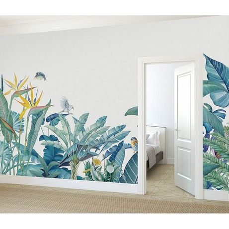 Роспись на стенах и художественная лепка