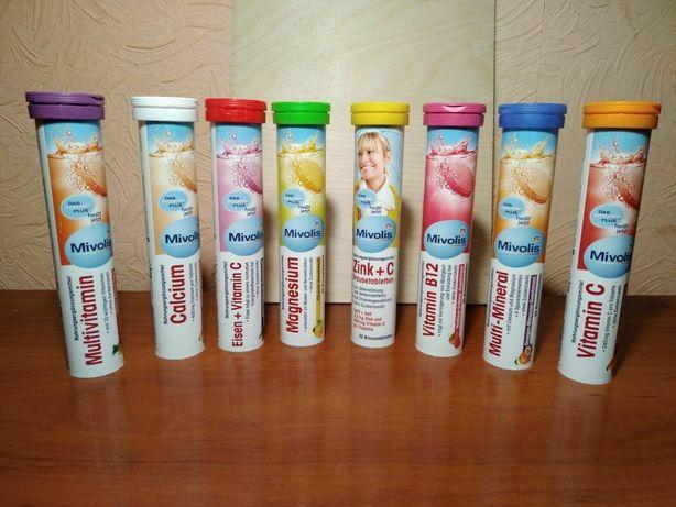 Шипучие витамины Das Gesunde Plus(германия)БАД.Шипучі вітаміни.Омега 3