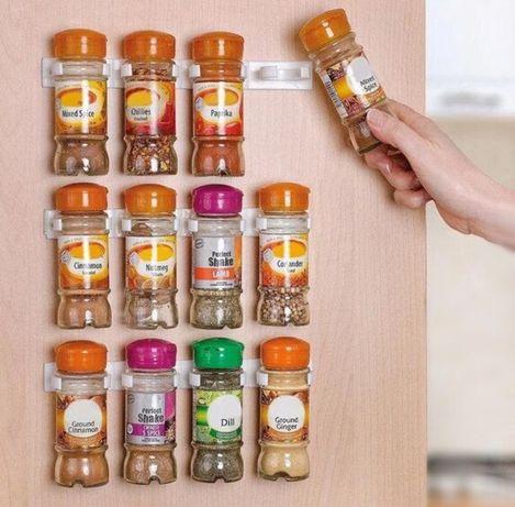 Универсальный кухонный органайзер Clip n Store для шкафов и холодильни