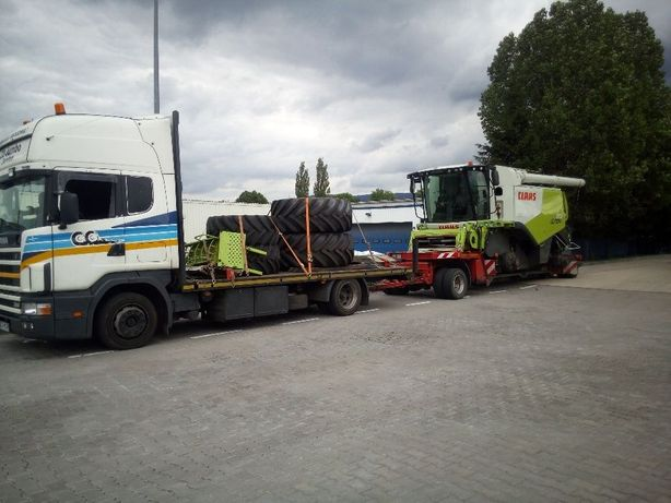 Transport kombajnow