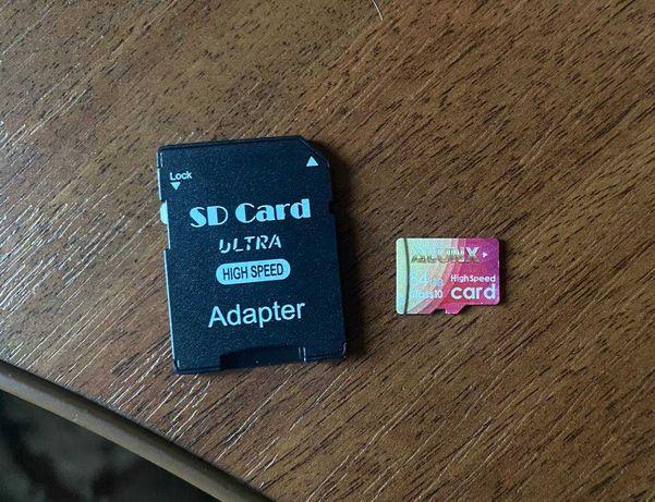 Флешки карти пам'яті MicroSd 32 гб