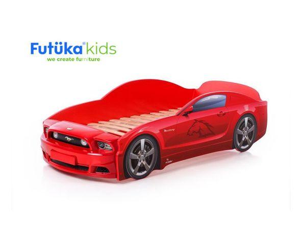 Кроватка машинка Mustang Plus в ЦВЕТ ДИВАНОВ - 11718р