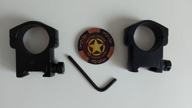Montaż 30 mm picatinny 21 mm wysoki Vector Optics