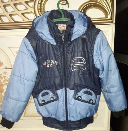 Куртка демисезонная мальчику 28 Размер