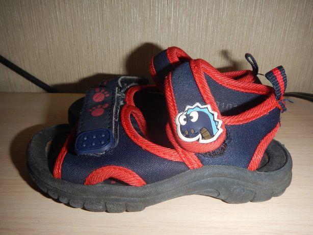 Босоножки walkright р.22 (14см) сандалии мальчику