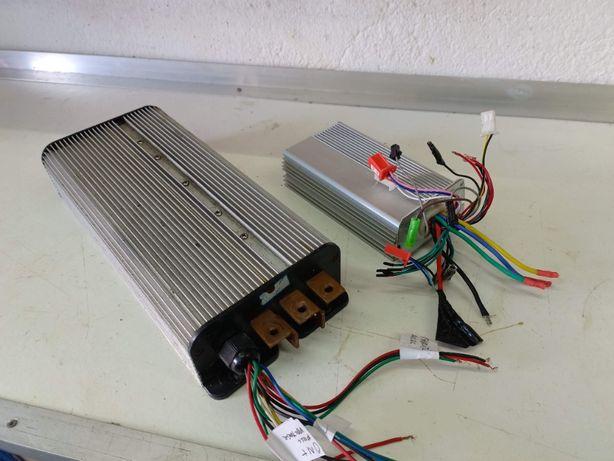 Controlador/Centralina Carro/Mota/Scooter eléctrica BLDC 12kw max 60v