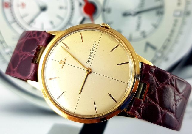 Zegarek złoty Jaeger-LeCoultre unikat 18k Vintage  Vacheron Patek