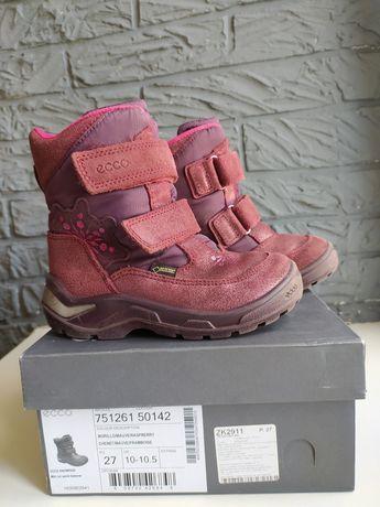 Ботинки Ecco 27 мембрана