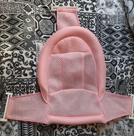 Горка натяжная в ванночку, розовая  - Babyhood