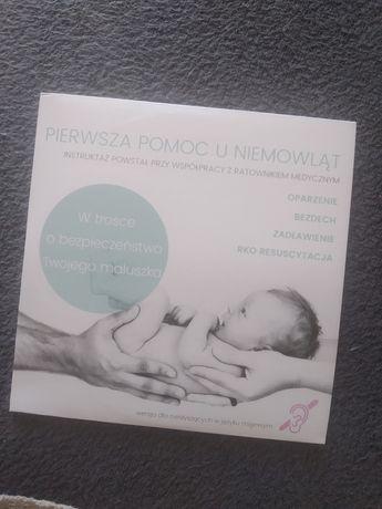 Płyta Pierwsza pomoc u niemowląt